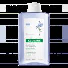 klorane Shampoo with flax fiber