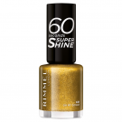 Rimmel 60 Seconds Super Shine Nail Polish 831 Oh My Gold