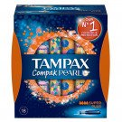 Tampax compak pearl super plus 18 pack