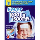 Kool 'n' soothe cooling strip sachets kids multipack 4 pack