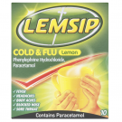 Lemsip cold & flu lemon 10 pack