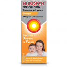 Nurofen for children oral suspension 3 months to 9 years orange 100mg/5ml 100ml