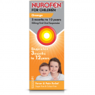 Nurofen for children oral suspension 3 months to 9 years orange 100mg/5ml 200ml
