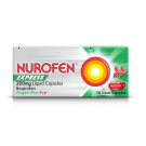 Nurofen express liquid capsules 200mg 200mg 16 pack