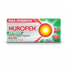 Nurofen express liquid capsules 400mg 400mg 20 pack