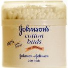 Johnson's baby cotton buds 200 pack