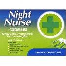 Night nurse capsules 10 pack