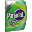 Panadol actifast tablets compack 14 pack