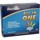 Beechams all-in-one tablets non-drowsy 16 pack