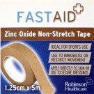 Fastaid zinc oxide tape 1.25cm x 5m