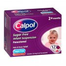 CALPOL INF SACH SUGER FREE 120MG 12X5