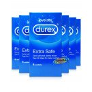 Durex contraceptive sheaths Intense 6 pack