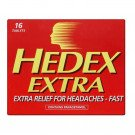 Hedex extra tablets 16 pack