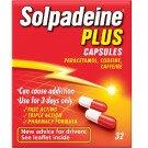 Solpadeine plus capsules 32 pack