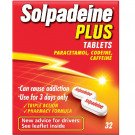 Solpadeine plus tablets 32 pack