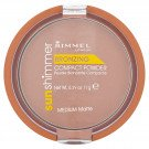 Rimmel face make-up Sunshimmer compact powder medium matte 11g