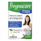 Pregnacare max tablets plus omega-3 capsules 84 pack