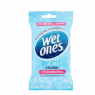 WET ONES cleansing wipes tissues 12