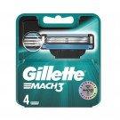 Gillette blades Mach3 4 pack
