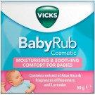 VICKS baby rub 50g