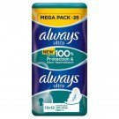 Always ultra sanitary towels normal plus duo 26 pack