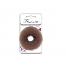 Finesse Bun Ring - Brown