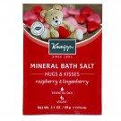Kneipp Mineral Bath Salt 'Hugs &n Kisses' Raspberry & Lingonberry