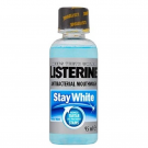 Listerine antiseptic mouthwash stay white 95ml
