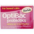 Optibac probiotic food supplements S. Boulardii (bowel calm) Capsules 16 pack
