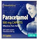 paracetamol caplets 500mg 32