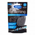 Wisdom active whitening charcoal floss harps 30