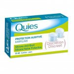 Quies ear plugs silicone noise reduction 3 pack