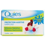 Quies foam ear plugs child silicone 3pr pack
