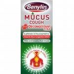 Benylin mucus cough + decongestant 100ml