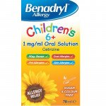 BENADRYL Allergy Children's 6+ 70ml