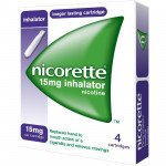 Nicorette inhalator 15mg 4 pack