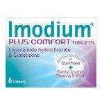 Imodium plus comfort tablets 6 pack