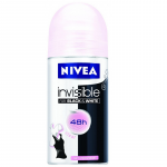 Nivea For Women roll-on deodorant black & white clear 50ml