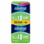 Always ultra sanitary towels normal duo pack 30 pack