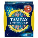Tampax compak pearl regular 18 pack
