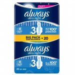 Always ultra sanitary towels nightime duo 20 pack
