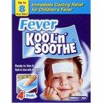 Kool 'n' soothe cooling strip sachets kids multipack 4 pack