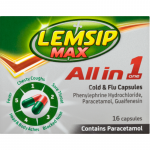 Lemsip max all in one capsules 16 pack