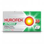 NUROFEN EXPRESS CAPLETS 256MG 16