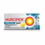 Nurofen cold & flu tablets 16 pack
