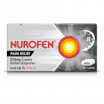 Nurofen joint & back caplets 256mg 16 pack