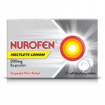 NUROFEN MELT tablets 200MG 12