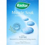 Radox bath salts muscle soak 400g 6 pack