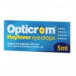 Opticrom hayfever eye drops 2% w/v 5ml