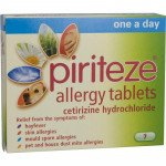 Piriteze allergy tablets one-a-day 10mg 7 pack